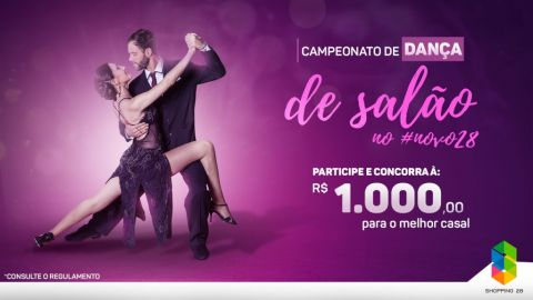 Concurso de Dança do Shopping Avenida 28